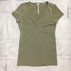 Adidas Stella McCartney V Neck Short Sleeve Shirt